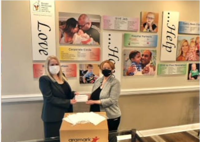 Aramark Aims to Donate 5 Million Face Masks – One for Every Mask Sold – to Ronald McDonald House Charities Chapters