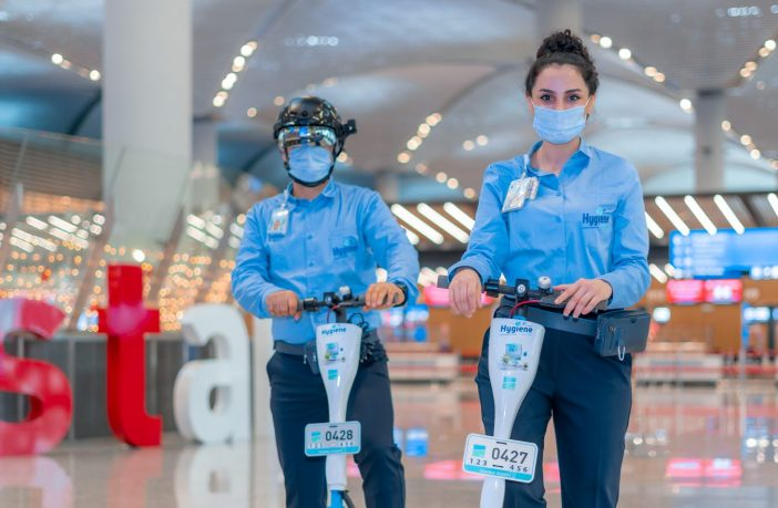 Istanbul Airport provides antimicrobial and antiviral uniforms to staff
