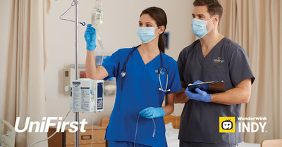 UniFirst Debuts New WonderWink INDY Line of Healthcare Scrubs for Uniform Service Programs