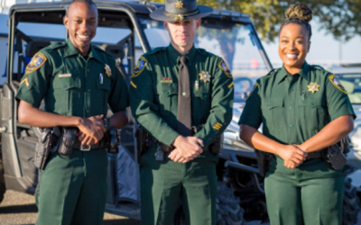 Berkeley County Sheriff's Office move from blue to green in new uniform release