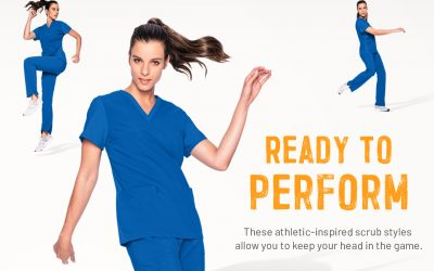Scrubs that Perform: New, Redesigned Performance by Urbane Scrubs