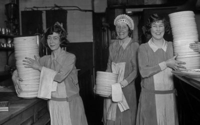 50 most common jobs held by women 100 years ago