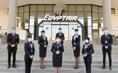 Egypt Air Reveals New Cabin Crew Uniforms