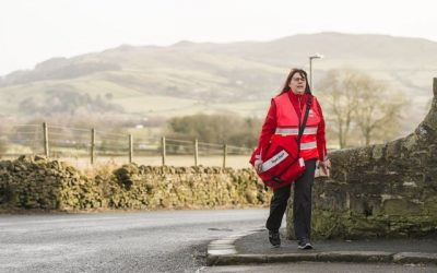 Postmen and women trial new uniforms