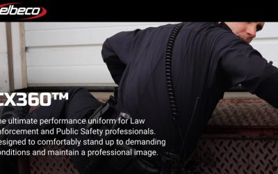 New Fabric Concept Inspires CX360™,  Elbeco's Latest Uniform Series