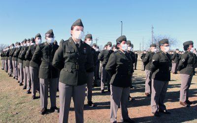 Burlington Reaches Production Milestone of 1 Million Yards for Army Green Service Uniforms