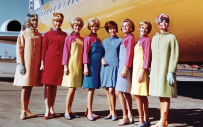 A Trip Through the Evolution of Flight Attendant Style