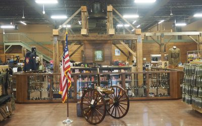 Buy a uniform, grab a sandwich, get a haircut and practice shooting all under one roof?  Welcome to Huron Valley Guns