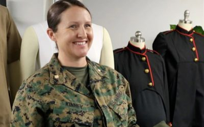 New Marine Corps maternity uniforms: designed by women, for women