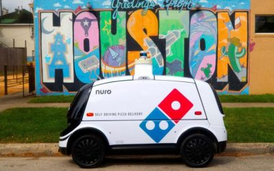 Self-Driving Cars to Start Delivering Domino's Pizza in Houston