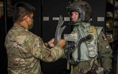 Air Force Tests New Suits to Protect Aircrew from Biological, Chemical Attacks