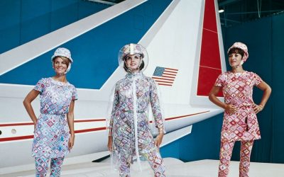 The Fashion Designers Behind the Most Iconic Airline Uniforms