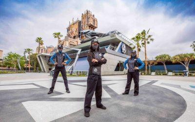 Disney Avengers Campus Cast Members Model Marvelous New Uniforms