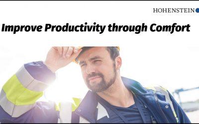 Improve Productivity through Comfort