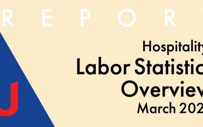 NAUMD Report: Hospitality Labor Statistics March 2021