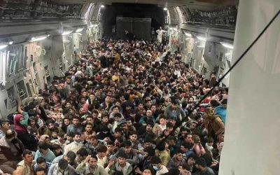 Famous C-17 Flight Filled with More Afghan Evacuees Than First Thought, Setting Record