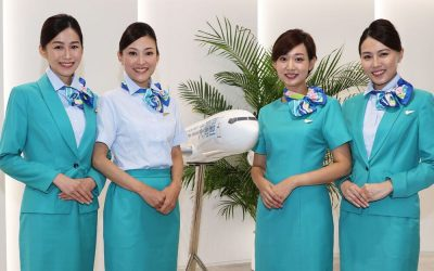 Greater Bay Airlines New Uniforms Receive Chilly Reception