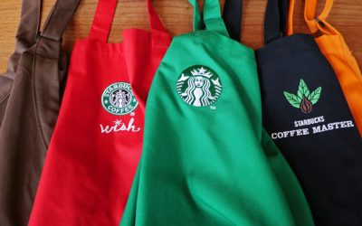 Starbucks Black Aprons Have a Different Meaning Than the Green Aprons