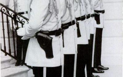 President Nixon's Secret Service uniform was almost unbelievable